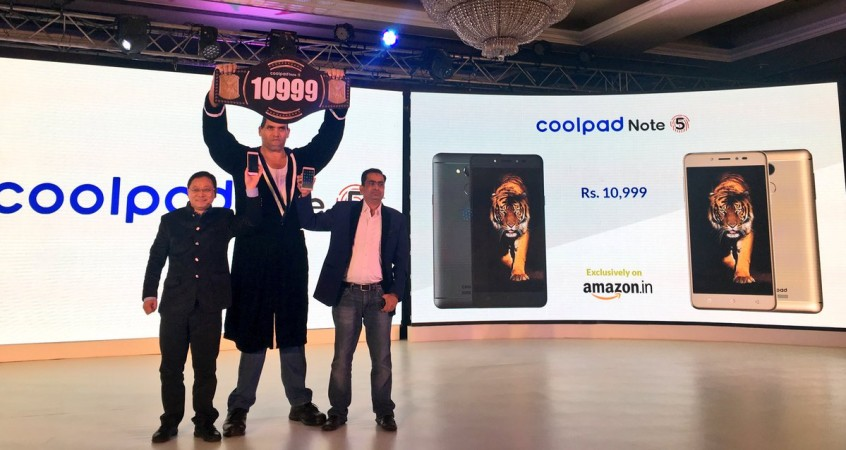 Coolpad Note 5 launched in India at Rs. 10,999
