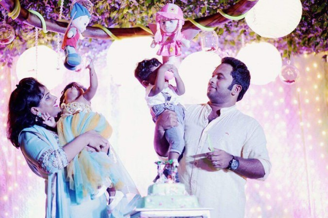Aju Varghese with family