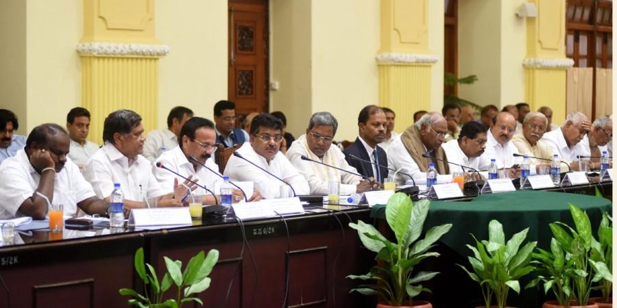 All-party meeting in Karnataka