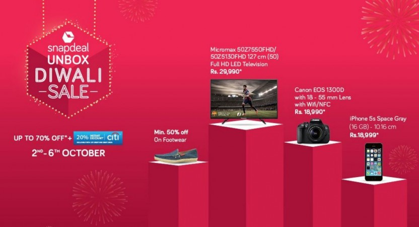Snapdeal Unbox Diwali Sale: Top deals on Apple Samsung, Xiaomi, Asus and other branded phones