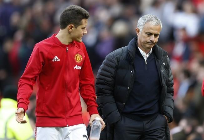 Ander Herrera Jose Mourinho Manchester United
