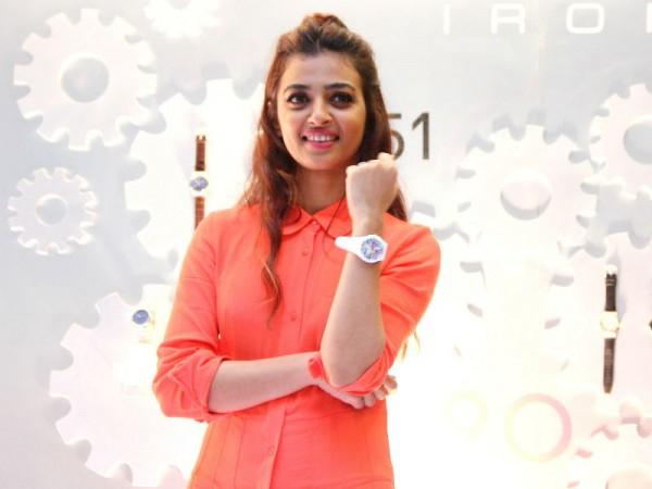 Radhika Apte at Swatch store launch