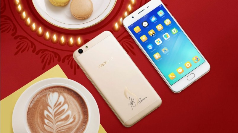 Special Oppo F1s Diwali edition launched ahead of festive season in India