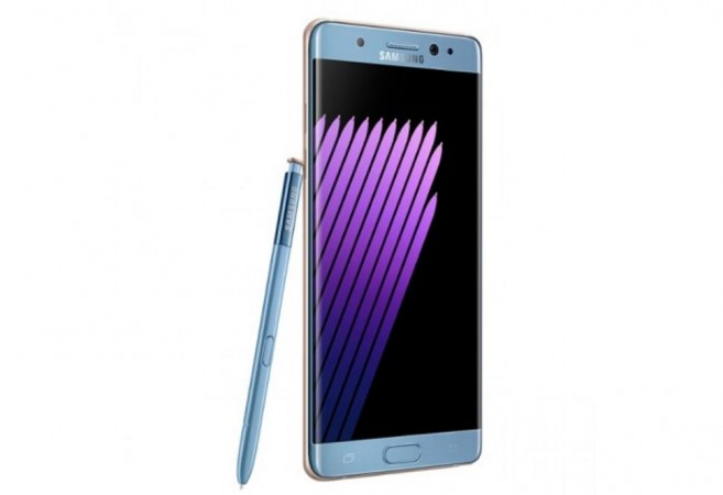 Newly exchanged Samsung Galaxy Note7 catches fire while boarding flight in US, CPSC initiates investigation