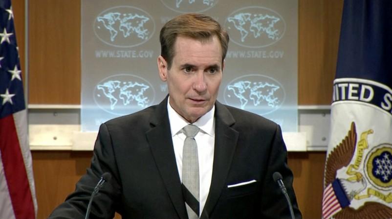 U.S. State Department spokesman John Kirby