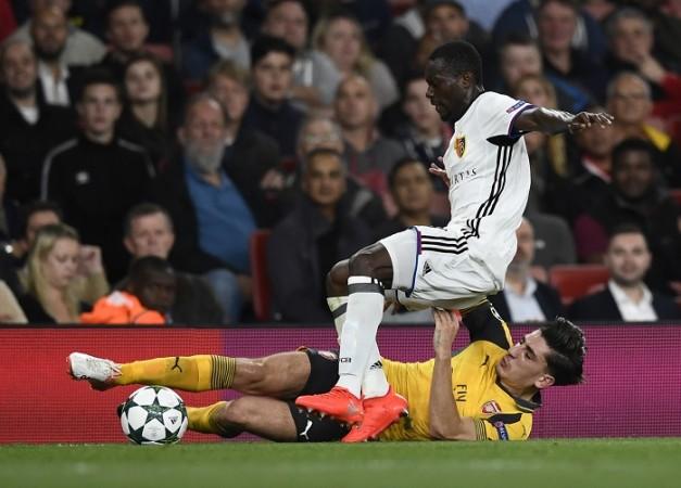 Hector Bellerin Arsenal Adama Traore FC Basel
