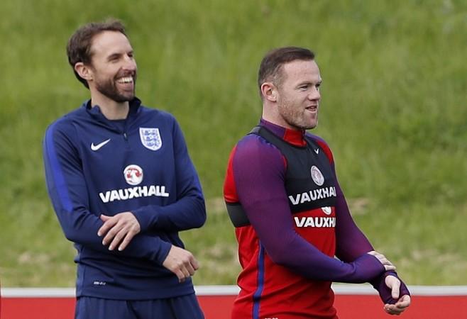 Gareth Southgate Wayne Rooney England