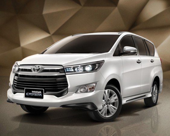 Toyota Innova Crysta With Sporty Bodykit Unveiled In