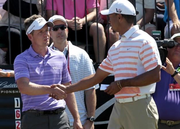 Luke Donald Tiger Woods