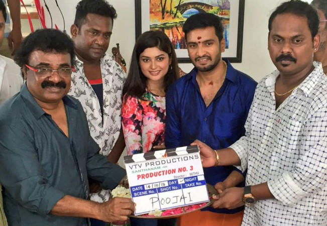 Santhanam's new movie with Sethuraman takes off