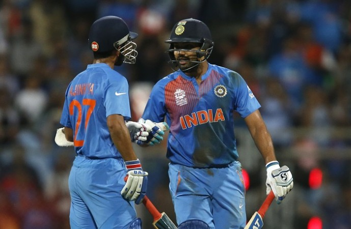 Ajinkya Rahane Rohit Sharma India