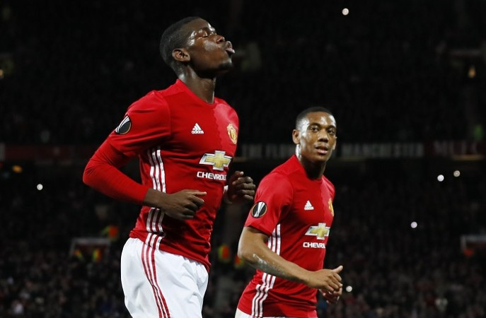 Paul Pogba Anthony Martial Manchester United