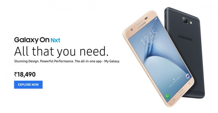 Samsung Galaxy On Nxt launched in India; price, specifications