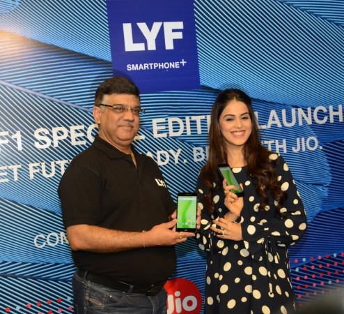 LYF F1 special edition launched with CA at Rs. 13,399