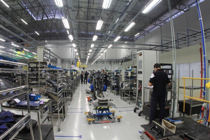 BMW Motorrad's first plant outside Germany begins production in Brazil