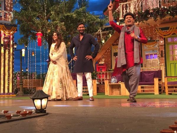 Shivaay on The Kapil Sharma Show