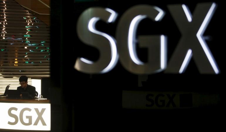 sgx singapore stock exchange results million profit revenue down fall straits times index volatility government marina bay