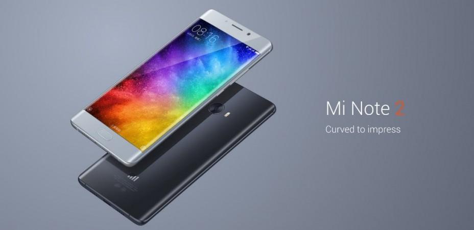 Xiaomi Mi Note 2 launch live