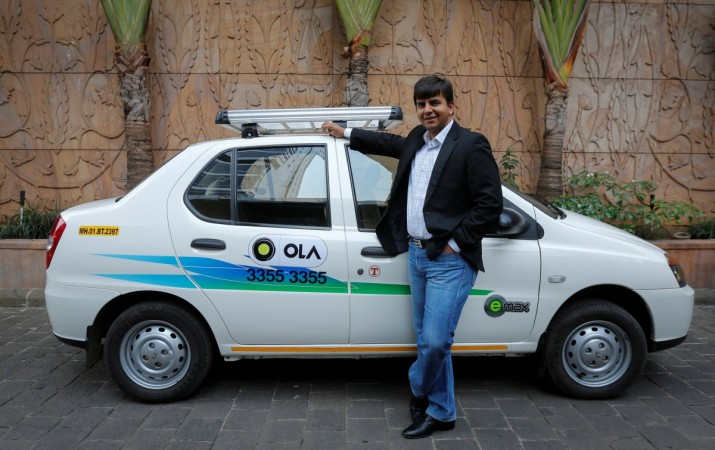 ola cabs bmw tie up uber india urban transport mobility service