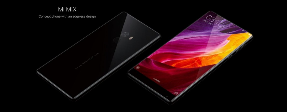 Xiaomi Mi Mix bezel-less smartphone now available for purchase in Singapore through e-tailer