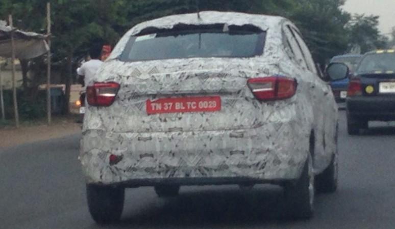 Tata Kite 5 spied testing again