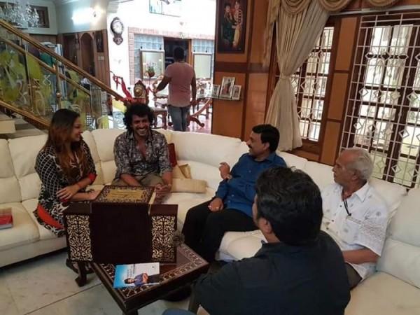 Janardhan Reddy invites Upendra