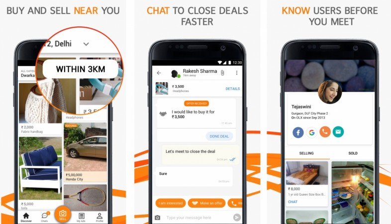 New OLX App looks to draw women through increased security - IBTimes