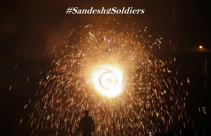 #Sandesh2Soldiers