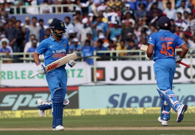 Virat Kohli Rohit Sharma India