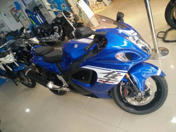 2017 Suzuki Hayabusa delivery commences in India