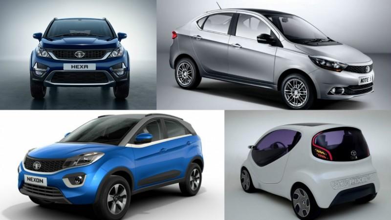 Upcoming Tata Motors vehicles