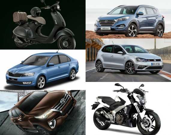 Cars, bikes launching in November
