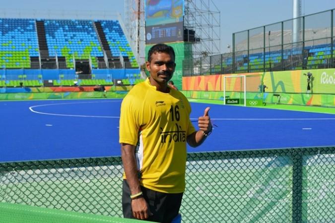 PR Sreejesh India hockey