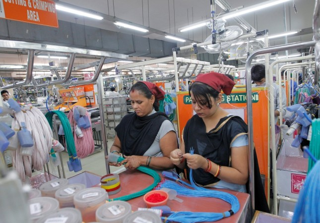 india pmi factory output gdp inflation retail rate repo growth high production goods workers
