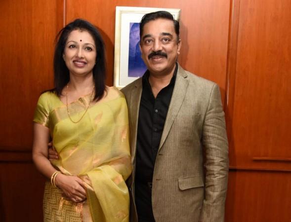 Kamal Haasan and Gautami