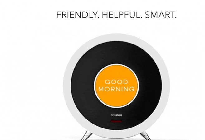 Bonjour AI-based smart alarm clock