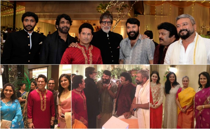 Celebs attend Kalyan Group's Diwali bash in Thrissur