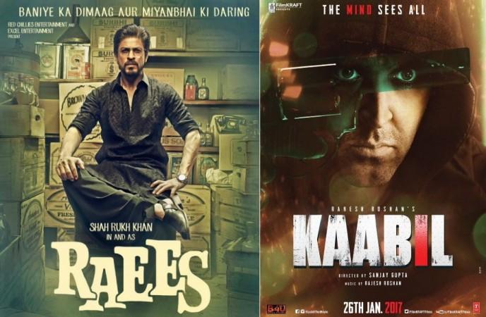 Shah Rukh Khan, Raees, Kaabil, Hrithik Roshan