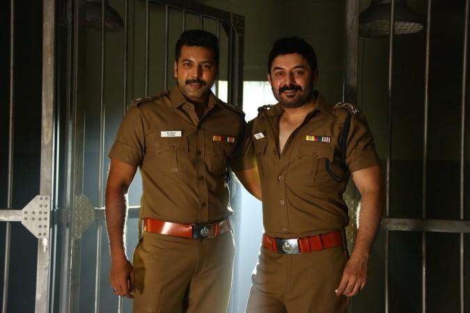 Jayam Ravi and Arvind Swamy's Bogan