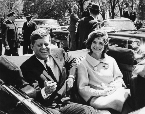 Robert Kennedy and Jackie Kennedy