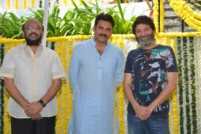 Pawan Kalyan and Trivikram Srinivas' next movie launch
