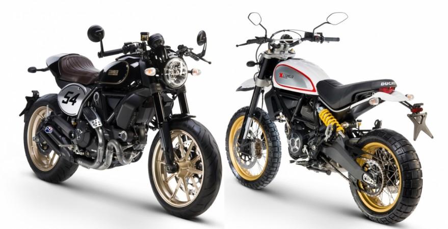 Ducati Scrambler Cafe Racer, Desert Sled