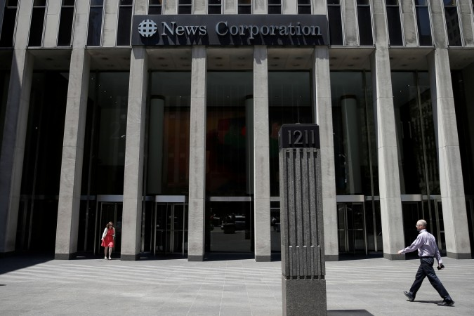 news corp fox news wsj dow jones harpincollins publishers revenue advertisement income weakness us america elections presidential business growth wires