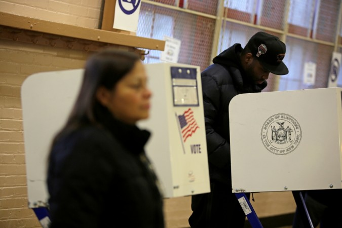 ballots in US