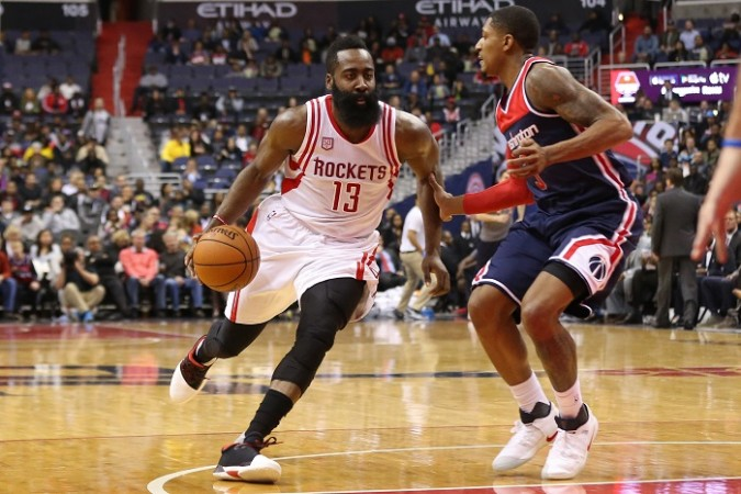 James Harden Houston Rockets Bradley Beal Washington Wizards