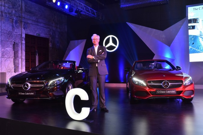Mercedes-Benz launches C-Class, S-Class Cabriolets in India