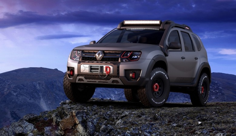 renault duster extreme concept showcased at sao paulo. Black Bedroom Furniture Sets. Home Design Ideas