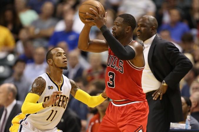 Dwyane Wade Chicago Bulls Monta Ellis Indiana Pacers