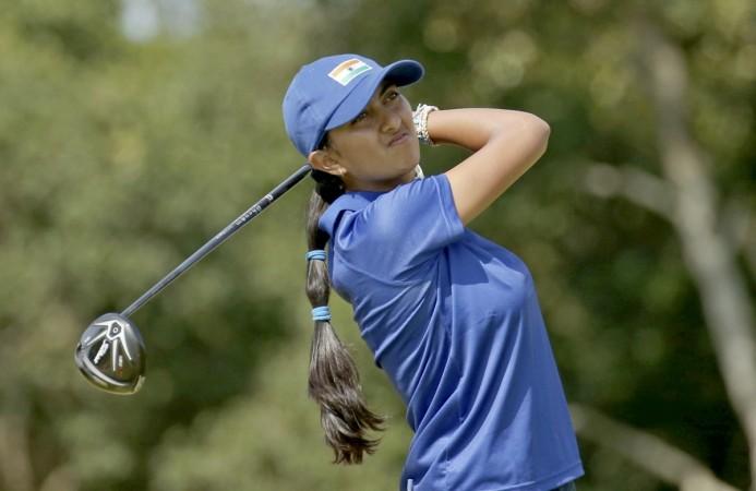 aditi ashok golf