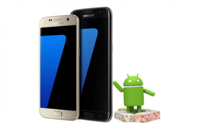 Android Nougat released to Verizon Samsung Galaxy S7, S7